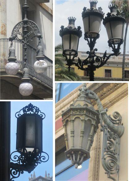 עמודי תאורה ברחובות העיר