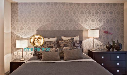 חדר השינה של עדנה.