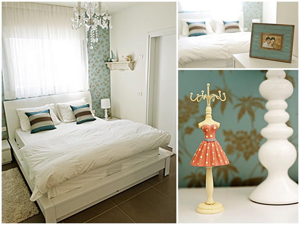 חדר שינה מעוצב של ליטל ותומר