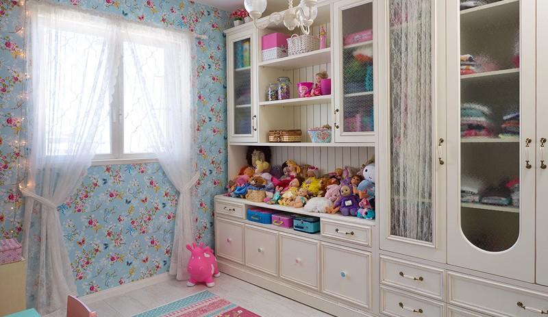 עיצוב חדר משחקים של בנות