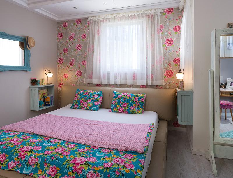חדר השינה של אסף וליאת