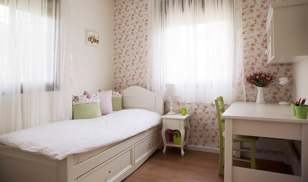 עיצוב חדר בנות של עמית