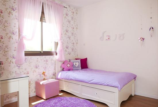 חדר בנות בסגול-אחרי