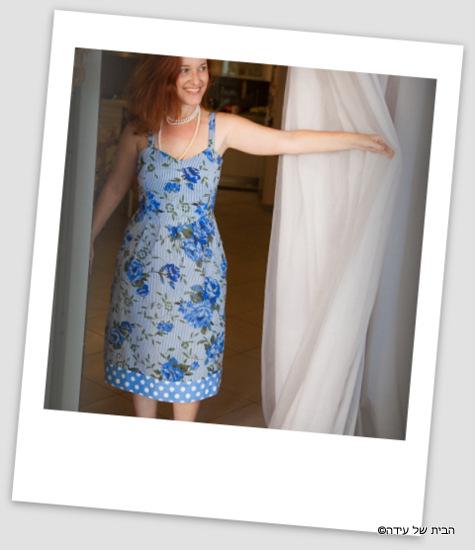 שמלת וינטאג' מ-bo bo  שוק הפשפשים, שמלות מקסימות