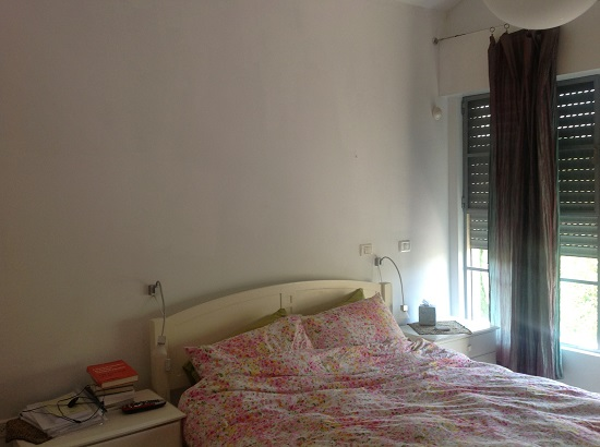 חדר שינה-לפני