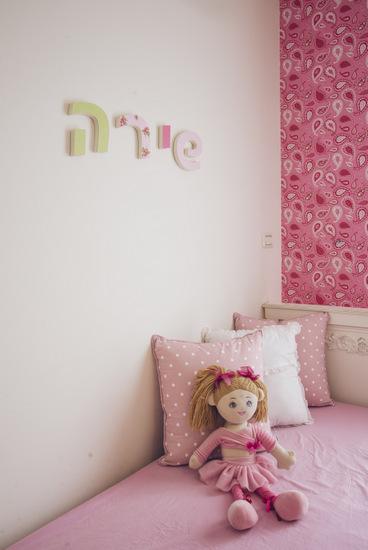 אותיות צבעוניות לקיר