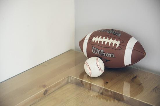 אווירת ספורט בחדר בנים