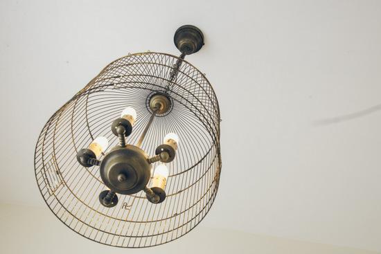 מנורת כלוב ציפורים