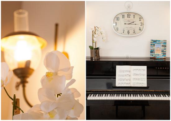 מיקום הפסנתר בסלון