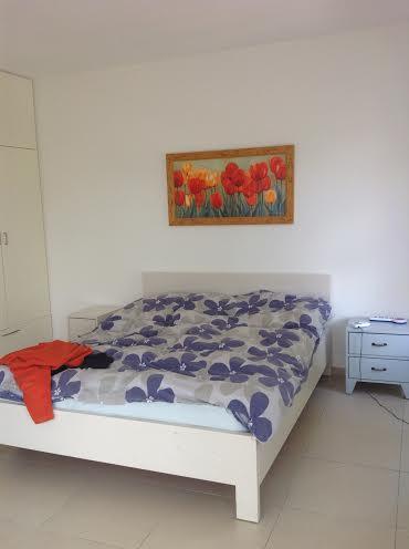 חדר השינה לפני