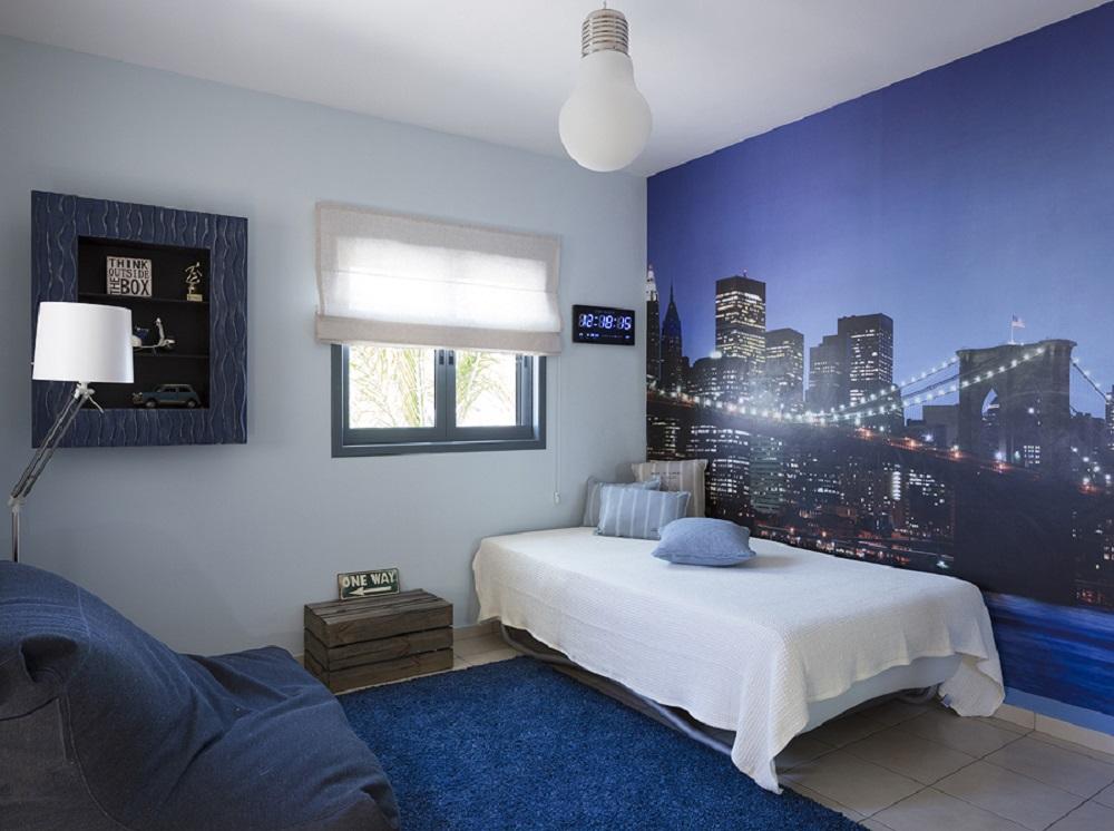 עיצוב חדר השינה של גיא
