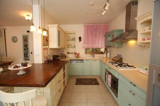 שילובי צבעים במטבח