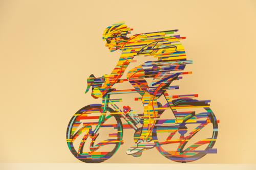 התחביב של רועי, רכיבה על אופניים