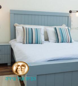 חדר השינה של אורית ועדי