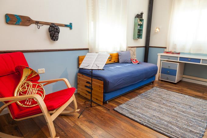 עיצוב החדר של אלדד