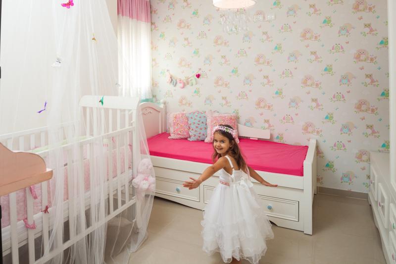 עיצוב חדר בנות של הילה ונטעלי