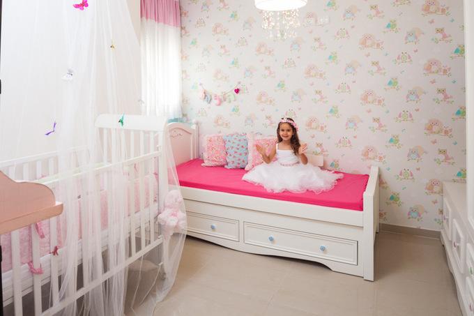 חדרי בנות עם טפט ינשופים
