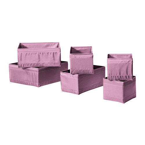 קופסאות אחסון של איקאה