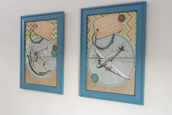 תמונות קיר לחדרי ילדים