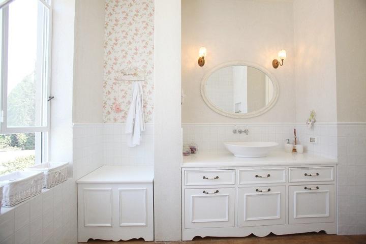 חדר אמבטיה כפרי