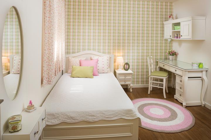 עיצוב חדרי בנות בסגנון פרובנס