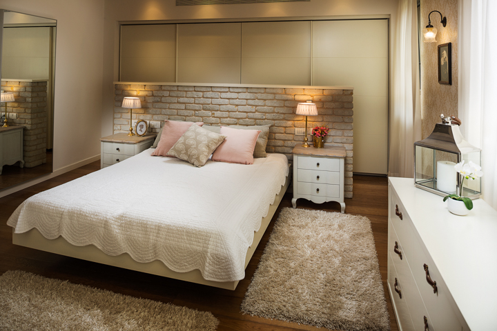 חדר שינה של גלית ושלומי