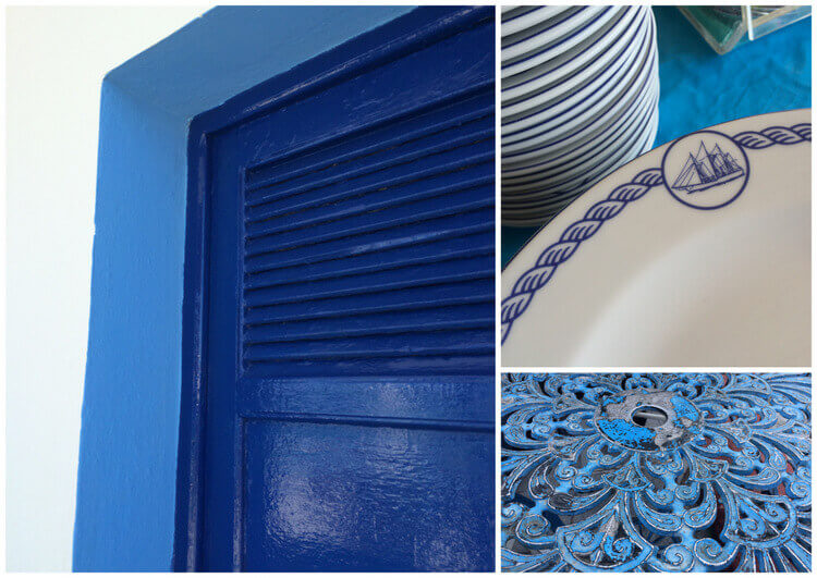עיצוב בכחול