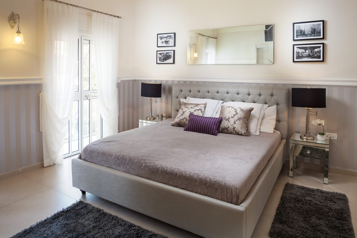 טפטים של חדר שינה