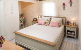 חדר שינה מעוצב רומנטי