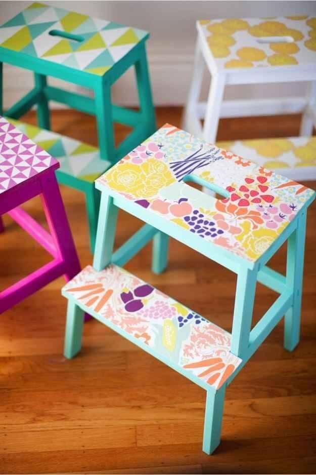 צביעת רהיטים של איקאה