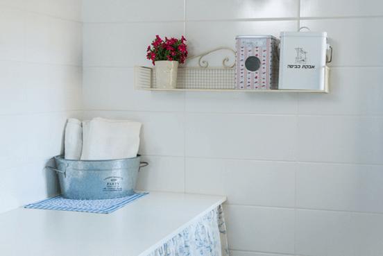 אחסון בחדר אמבטיה