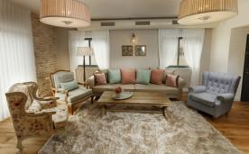 שטיח תאורה מעוצבת לסלון