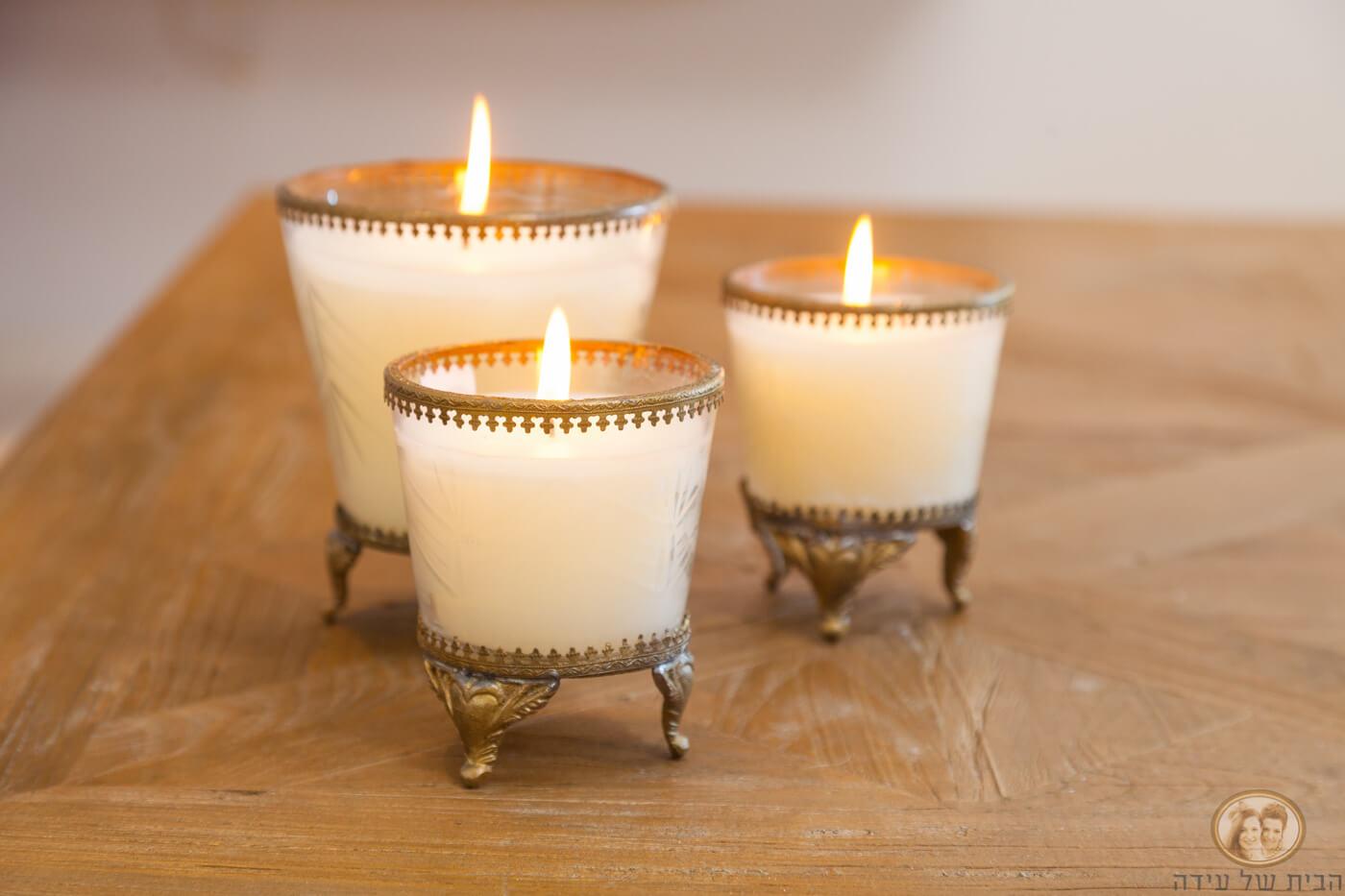נרות דקורטיביים