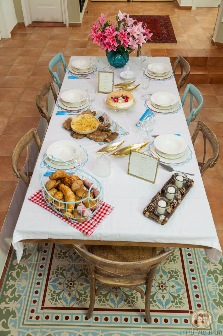 שולחן חג שבועת