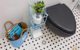 עיצוב אמבטיית האורחים בבית של ליזי וגיא