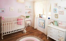 עיצוב חדר תינוקות ורוד