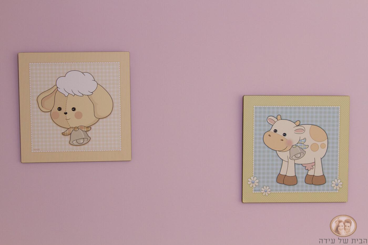 ציורים לחדרי ילדים