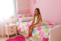 חדרי הבנות בבית של עומרית וגיא