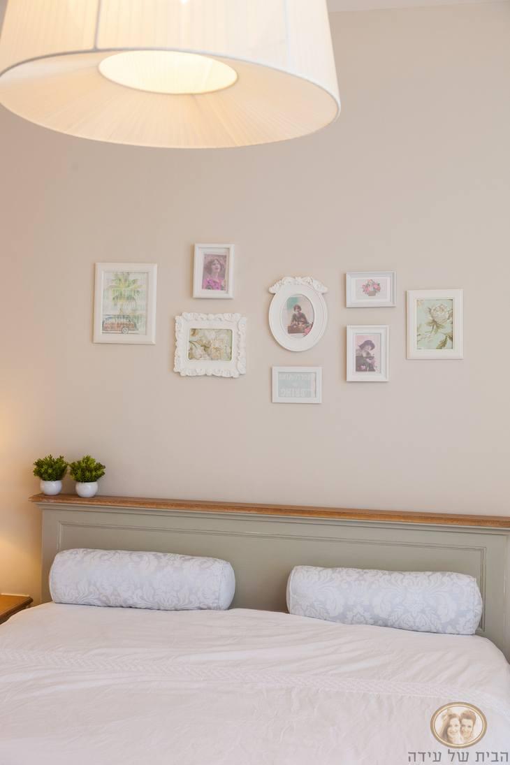 עיצוב חדר שינה בסגנון כפרי