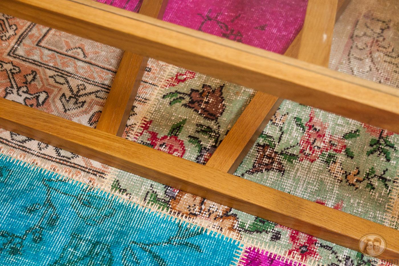 שטיח טלאים לסלון
