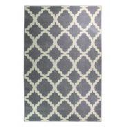 שטיח אדגר אפור לבן