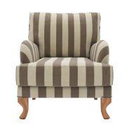 כורסא פסים מבד מעוצבת