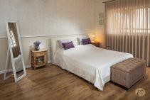 חדר שינה מעוצב של מירב ואסף