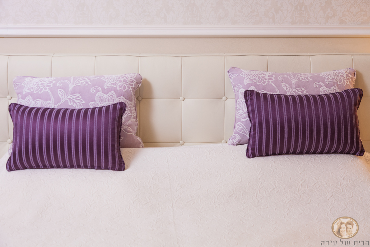 כריות נוי למיטה