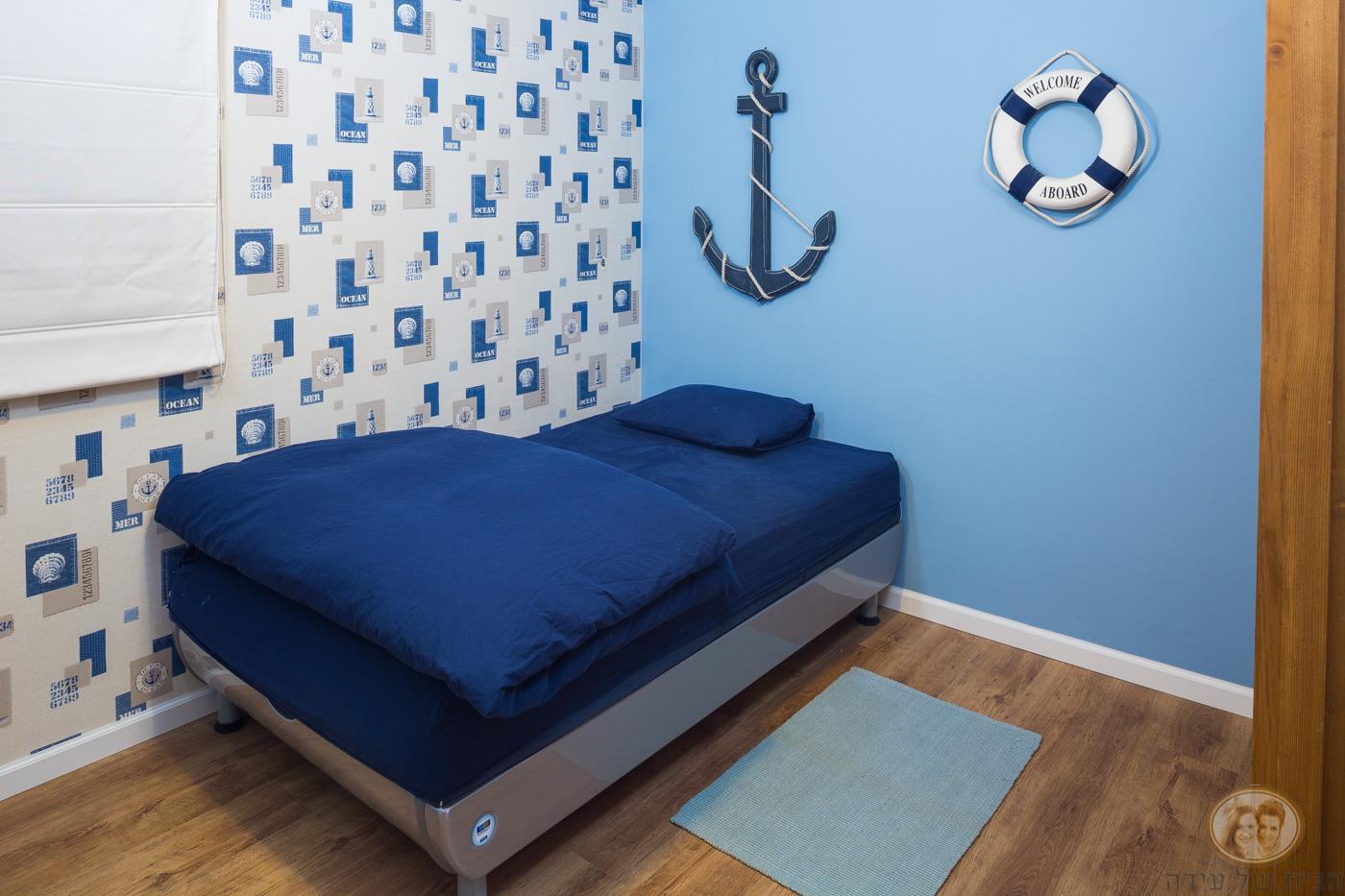 חדר בנים מעוצב