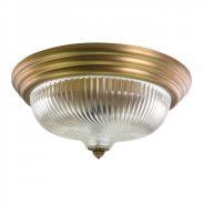 מנורת איבונה צמודת תקרה