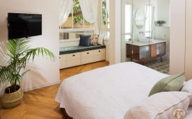חדר שינה מעוצב של מירב ויפתח