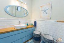 עיצוב חדר האמבטיה של ליאת ואייל
