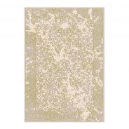 שטיח מרקוס, מעוצב בסגנון וינטג' בגווני וורוד עתיק בהיר מעושן, קרם וגרז'