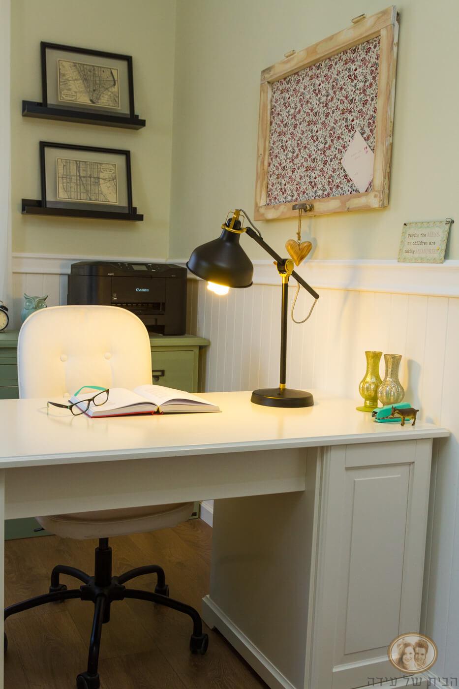 עיצוב חדר עבודה בבית